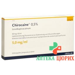 CHIROCAINE 0.5 %