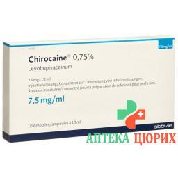 CHIROCAINE 0.75 %