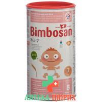 Бимбосан Био-7 для детей с большим аппетитом, без сахара порошок банка 300 грамм