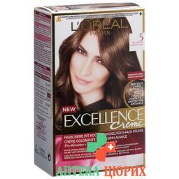 Excellence крем Triple Prot 5 Hellbraun