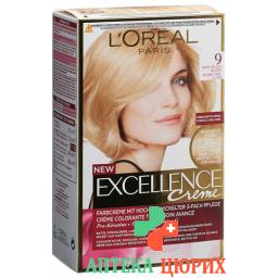Excellence крем Triple Prot 9 Sehr Helles Blond