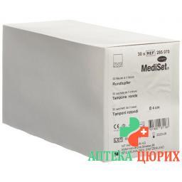 Mediset IVF Rundtupfer 4см стерильный 3 штуки