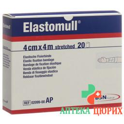 Elastomull марлевый бинт Weiss 4мX4см 20 штук