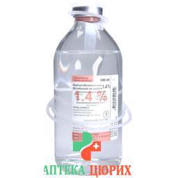 Натрия Бикарбонат Биксель 1.4% 500 мл