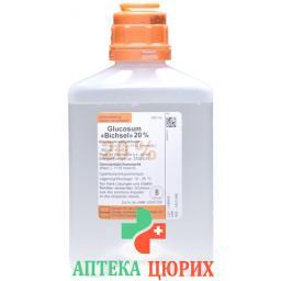 Глюкоза Биксель 20% 500 мл инфузия для инъекций