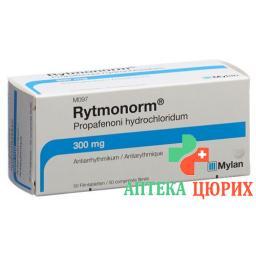 Ритмонорм 300 мг 100 таблеток покрытых оболочкой