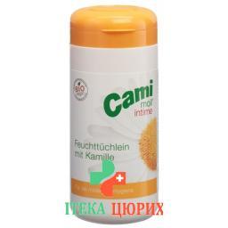 Cami Moll Intime Feuchttucher Dose 100 штук