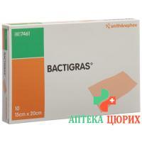 Бактриграс марлевая повязка 15 см x 20 см 10 пакетиков