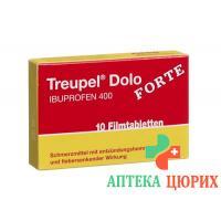 Тройпел Доло Форте 400 мг 10 таблеток покрытых оболочкой