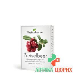 Фитофарма Брусника 120 таблеток