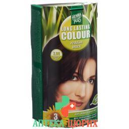 Henna Plus Long Last Colour 2.66 Reddish Black