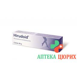 Гирудоид 3 мг/г 40 грамм крем