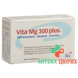 Вита Mg 300 Плюс с апельсиновым вкусом 36x7.9 г