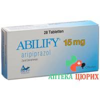 Абилифай 15 мг 28 таблеток