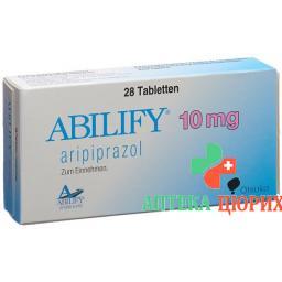 Абилифай 10 мг 28 таблеток
