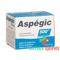 Аспегик порошок 500 мг 20 пакетиков