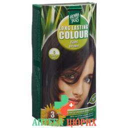 Henna Plus Long Last Colour 5 Hellbraun