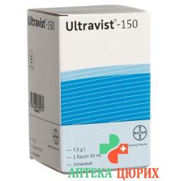 Ультравист150 мг 200 мл раствор для инъекций