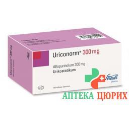 Уриконорм 300 мг 100 таблеток