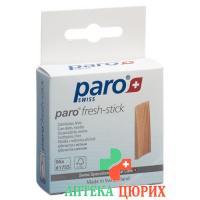 Paro Fresh Stick Zahnholz Mittel Mint 96 штук