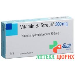 Витамин Б1 Штройли 300 мг 20 таблеток
