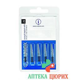 Curaprox CPS 25 Implantatbursten Schwarz 5 штук