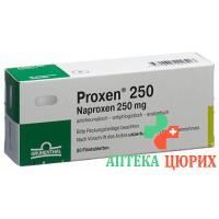 Проксен 250 мг 50таблеток покрытых оболочкой