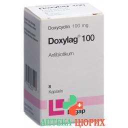 Доксилаг 100 мг 8 капсул