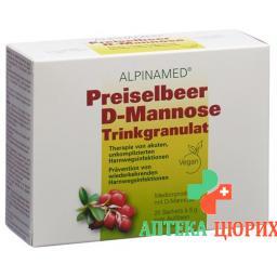 Alpinamed Preiselbeer Trinkgranulat 20 пакетиков