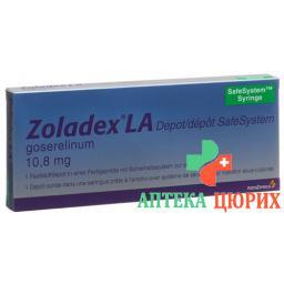Золадекс Безопасная система 10.8 мг заполненный шприц