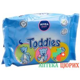 Nivea Baby Toddies влажные салфеткиRefill 60 штук