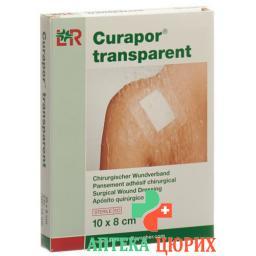 Curapor повязка для ран 8x10см прозрачный 5 пакетиков