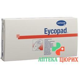 Eycopad Augenkompressen 70x85мм не стерильный 50 штук