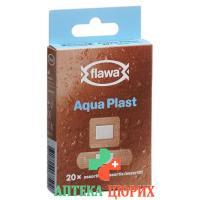 Flawa Aqua Plast Assortiert 20 штук