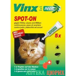 VINX BIO SPOT ON NEEM KATZE
