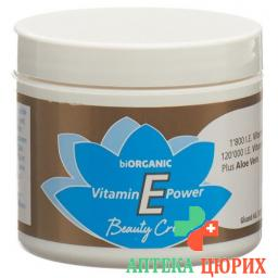 biOrganic Vitamin E Power Beauty крем 120мл