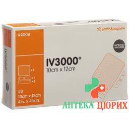 Opsite Iv3000 Kanulenfixation 10x12см 50 штук
