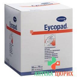Eycopad Augenkompressen 70x56мм стерильный 25 штук