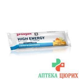 Sponser High Energy Bar Vanille / Apricot 45г