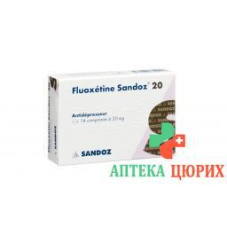 Флуоксетин Сандоз 20 мг 100 диспергируемых таблеток