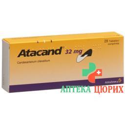 Атаканд 32 мг 28 таблеток