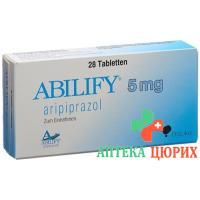 Абилифай 5 мг 28 таблеток