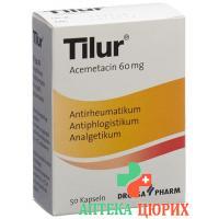 Тилур 60 мг 50 капсул
