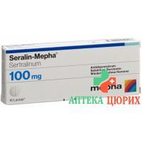 Сералин Мефа 100 мг 100 таблеток покрытых оболочкой