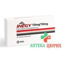Инеджи 10/10 мг 28 таблеток