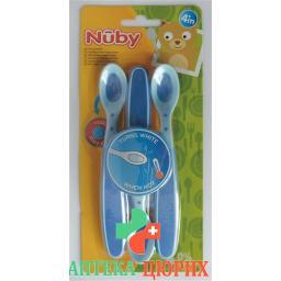 Nuby Sensorloffel Soft 3 штуки