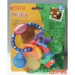 """Nuby Kuhlbeissfigur """"Schlussel"""" mit Eisgel"""