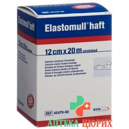 Elastomull Haft марлевый бинт Weiss 20мX12см рулон