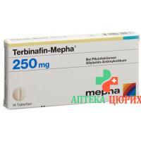 Тербинафин Мефа 250 мг 28 таблеток