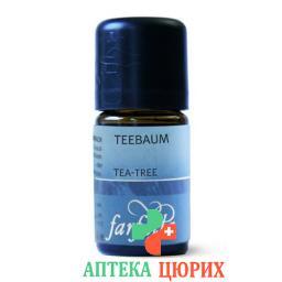 Farfalla Teebaum Bush Oil эфирное масло Bio 5мл